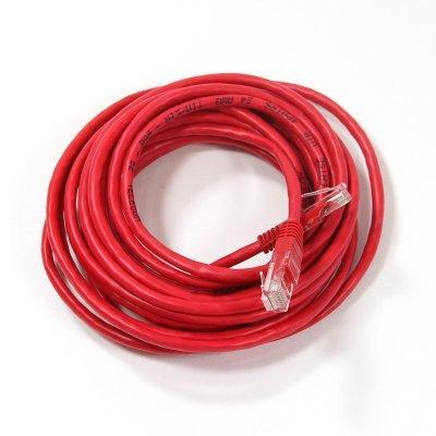 где купить Кабель Patch Cord Telecom NA102-R-5M UTP кат.5е 5,0м красный (NA102-R-5M) по лучшей цене
