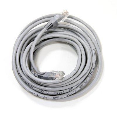 где купить Кабель Patch Cord Telecom NA102--5M UTP кат.5е 5,0м серый (NA102--5M) по лучшей цене