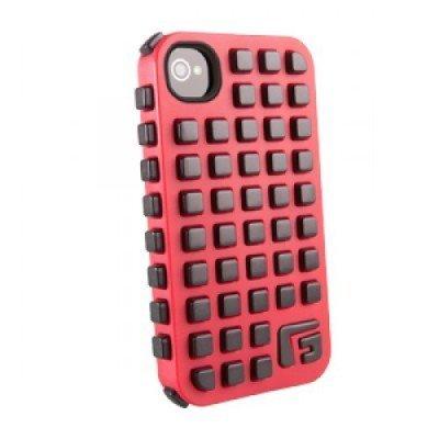 Чехол для смартфона Forward Apple iPhone 4S красный/черный CP2IP4009E (CP2IP4009E)Чехлы для смартфонов Forward<br>Противоударный чехол для iPhone 4S, Extreme Grid реактивная защита от удара и падений (RPT &amp;#8482;), красный/черный, G-Form.<br>