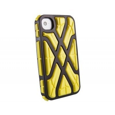Чехол для смартфона Forward Apple iPhone 4S желтый/черный CP1IP4004E (CP1IP4004E)Чехлы для смартфонов Forward<br>Противоударный чехол для iPhone 4S, X-Protect реактивная защита от удара и падений (RPT &amp;#8482;), желтый/черный, G-Form.<br>