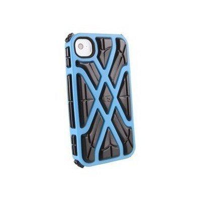 Чехол для смартфона Forward Apple iPhone 4S синий/черный CP1IP4006E (CP1IP4006E)Чехлы для смартфонов Forward<br>Противоударный чехол для iPhone 4S, X-Protect реактивная защита от удара и падений (RPT &amp;#8482;), синий/черный CP1IP4006E<br>