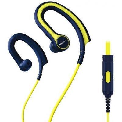Наушники Pioneer SE-E711T желтый/синий (SE-E711T-Y)Наушники Pioneer<br>Наушники вкладыши Pioneer SE-E711T-Y 1.2м желтый/синий проводные (крепление за ухом)<br>