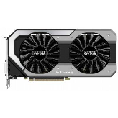 Видеокарта ПК Palit GeForce GTX 1060 1594Mhz PCI-E 3.0 3072Mb 8000Mhz 192 bit DVI HDMI HDCP (NE51060S15F9-1060J)Видеокарты ПК Palit<br>видеокарта NVIDIA GeForce GTX 1060<br>3072 Мб видеопамяти GDDR5<br>частота ядра/памяти: 1594/8000 МГц<br>разъемы DVI, HDMI, DisplayPort x3<br>поддержка DirectX 12, OpenGL 4.5<br>работа с 4 мониторами<br>