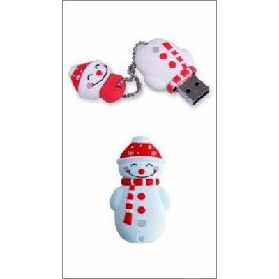 USB накопитель ICONIK RB-SM1-8GB (RB-SM1-8GB)USB накопители ICONIK<br>Внешний накопитель 8GB USB Drive &amp;lt;USB 2.0&amp;gt; ICONIK Снеговик (RB-SM1-8GB)<br>