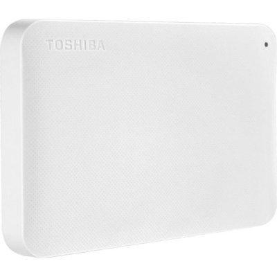 Внешний жесткий диск Toshiba 500GB HDTP205EW3AA белый (HDTP205EW3AA) внешний жесткий диск 2 5 usb3 0 500gb toshiba canvio connect ii hdtc805ew3aa белый
