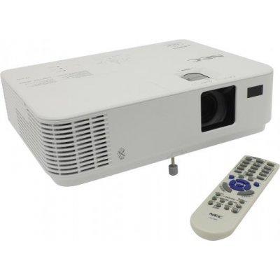 Проектор NEC VE303XG (VE303XG)Проекторы NEC<br>Мультимедийный проектор NEC VE303X (VE303XG) Full 3D, DLP, 3000 ANSI lumen, XGA, 10000:1, лампа 6000<br>