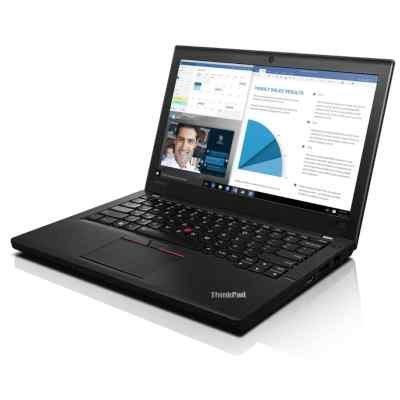 Ультрабук Lenovo ThinkPad X260 (20F600AFRT) (20F600AFRT)Ультрабуки Lenovo<br>12.5HD(1366x768)IPS, i5 6200U/4/500, HD Graphics 520,NoODD,WiFi,BT,3cell int.+3cell.,WWANready,Win10Pro64,1.3Kg,3y<br>