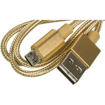 где купить  Кабель USB Buro USB A (m)/micro USB B (m) 1м (BHP MICROUSB 1M BRAIDED) (BHP MICROUSB 1M BRAIDED)  дешево
