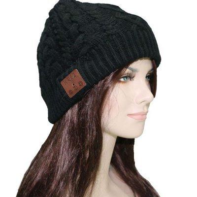 Шапка со стерео-гарнитурой KREZ Talking Hat черная (KREZAB01), арт: 257920 -  Bluetooth-гарнитуры KREZ