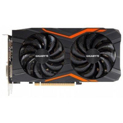 Видеокарта ПК Gigabyte GeForce GTX 1050 Ti 1366Mhz PCI-E 3.0 4096Mb 7008Mhz 128 bit DVI 3xHDMI HDCP G1 Gaming (GV-N105TG1GAMING-4GD) asus radeon rx 460 1200mhz pci e 3 0 4096mb 7000mhz 128bit dvi hdmi dp hdcp strix rx460 4g gaming