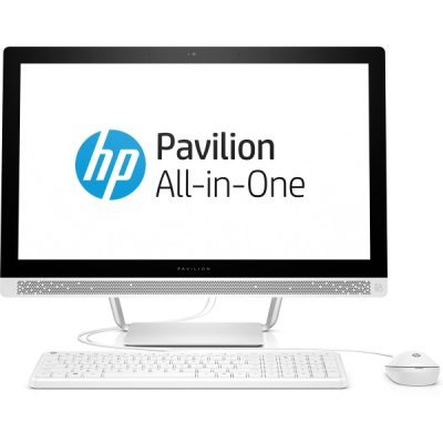 Моноблок HP Pavilion 24-b235ur (1AW63EA) (1AW63EA)Моноблоки HP<br>24&amp;amp;#039;&amp;amp;#039; IPS FHD LED Non-touch,Core i3-7100T,4GB DDR4 (1X4GB),1TB 5400RPM 2.5 SSHD W8GB,Intel HD Graphics,DVDRW,usb kbd/mouse,Blizzard White,FreeDOS<br>