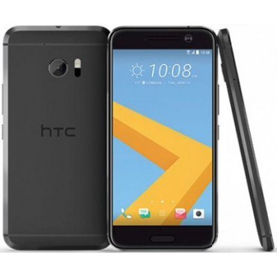 Смартфон HTC 10 Carbon серый (99HAJH021-00)Смартфоны HTC<br>10 EEA Carbon Gray 5.2  , 1440x2560, 2.2GHz, 4 Core, 4GB RAM, 32GB, up to 2TB flash, 12Mpix+5Mpix, 2G, 3G,LTE, BT, Wi-Fi, NFC, GPS, Glonass, 3000mAh,  Android 6.0,  161g, 145,9x71,9x9<br>