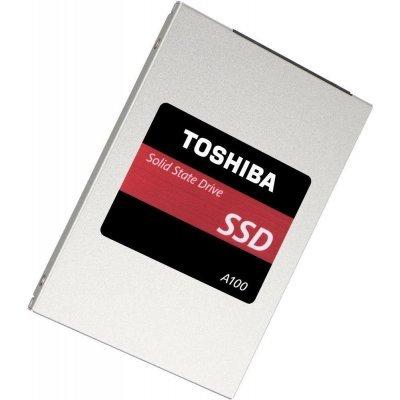 Накопитель SSD Toshiba THN-S101Z1200E8 (THN-S101Z1200E8)Накопители SSD Toshiba<br>Твердотельный накопитель A100 SSD 120Gb, 2.5 SSD, TLC<br>