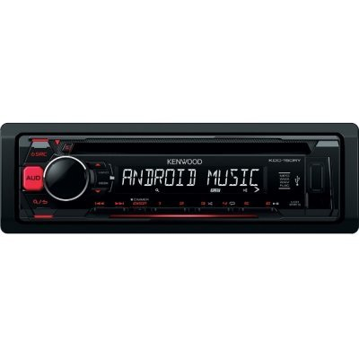 Автомагнитола Kenwood KDC-151RY (KDC-151RY) автомагнитола cd mp3 kenwood kdc bt500u