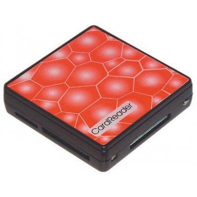 Картридер Konoos UK-15 (UK-15)Картридеры Konoos<br>Картридер USB 2.0 Konoos UK-15, 5 разъемов для карт памяти (SD/MMC/SDHC/MS/M2/XD/TF)<br>