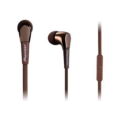 Наушники Pioneer SE-CL722T коричневый (SE-CL722T-T)Наушники Pioneer<br>наушники с микрофоном<br>вставные (затычки)<br>чувствительность 100 дБ<br>импеданс 16 Ом<br>вес 9 г<br>разъем mini jack 3.5 mm<br>
