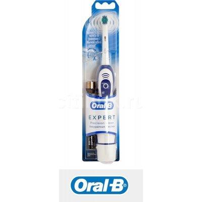 Зубная щетка электрическая Braun Oral-B ProExpert белый/синий (DB4) oral b oral b зубная щетка stages proexpert мягкая розовая