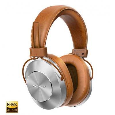 Bluetooth-гарнитура Pioneer SE-MS7BT коричневый (SE-MS7BT-T)Bluetooth-гарнитуры Pioneer<br>Наушники накладные Pioneer SE-MS7BT-T коричневый беспроводные bluetooth (оголовье)<br>