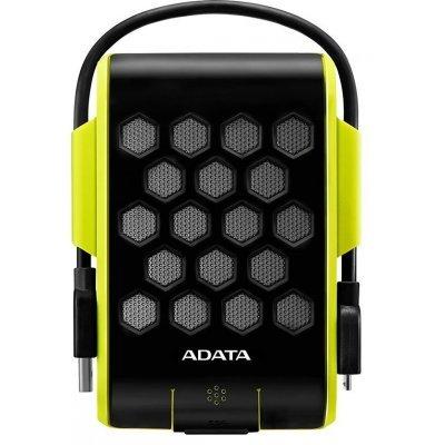 Внешний жесткий диск A-Data AHD720-2TU3-CGR (AHD720-2TU3-CGR)Внешние жесткие диски A-Data<br>Внешний жесткий диск 2TB A-DATA HD720, 2,5 , USB 3.0, прорезиненный, зеленый<br>