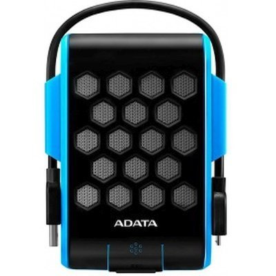 Внешний жесткий диск A-Data AHD720-2TU3-CBL (AHD720-2TU3-CBL)Внешние жесткие диски A-Data<br>Внешний жесткий диск 2TB A-DATA HD720, 2,5 , USB 3.0, прорезиненный, синий<br>