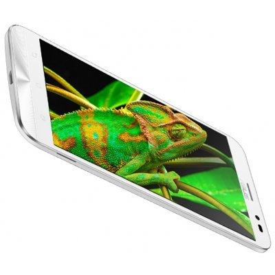 Смартфон ASUS Zenfone Go ZB552KL белый (90AX0077-M00320)Смартфоны ASUS<br>Смартфон ASUS Zenfone Go ZB552KL DS 5,5(1280x720)IPS LTE Cam(13/5) MSM8916 1,2ГГц(4) (2/16)Гб A6.0 3000мАч Белый ZB552KL-7B029RU 90AX0077-M00320<br>