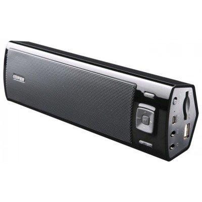 Портативная акустика Edifier MP17 черный (MP17 Black)Портативная акустика Edifier<br>Колонки Edifier MP17 Black &amp;lt;Портативные, 1.5Wx2, встроенный аккумулятор, RMS&amp;gt;<br>