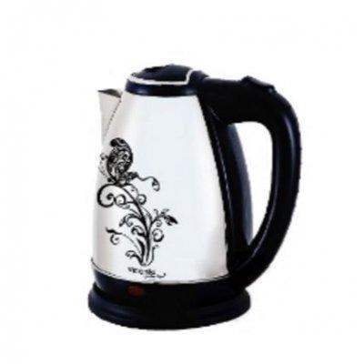 Электрический чайник Viconte VC-3259 (VC 3259)Электрические чайники Viconte <br>VC-3259 Чайник 2л,Цветок,меняет цвет при нагреве, 2000Вт, нерж., черный Viconte<br>