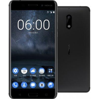 Смартфон Nokia 6 DS 32Gb Black (Черный) (11PLEB01A15) nokia 5200 экран неоригенл