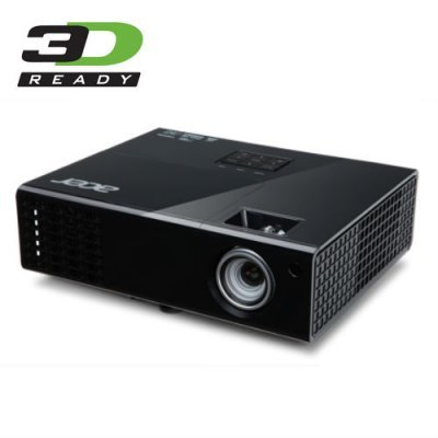 Проектор Acer P1500 (MR.JGQ11.001)Проекторы Acer<br>Проектор Acer P1500 DLP 3000Lm (1920x1080) 10000:1 ресурс лампы:4000часов 1xHDMI 2.2кг<br>