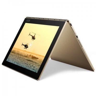 Планшетный ПК Lenovo Yoga Book YB1-X90L (ZA0W0014RU) (ZA0W0014RU)Планшетные ПК Lenovo<br>Atom x5-Z8550 (1.44) 4C, RAM4Gb, ROM64Gb 10.1 IPS 1920x1200, 3G, 4G, Android 5.1, золотистый, 8Mpix, 2Mpix, BT, GPS, WiFi, Touch, microSD 128Gb, mHDMI, minUSB, 8500mAh, 13hr, до 1380hrs<br>