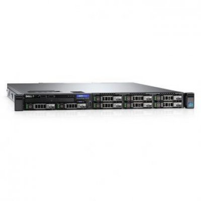 Сервер Dell PowerEdge R430 (210-ADLO/115) (210-ADLO/115)Серверы Dell<br>PowerEdge R430 E5-2620v4 (2.1GHz, 8C), 16GB (1x16GB) RDIMM, (1)*1.2TB SAS 10k (up to 8x2.5), PERC H330, DVD-RW, Integrated QP Gigabit LAN, iDRAC8 Enterprise, PSU (1)*550W up to RPS, Bezel, Rack Rails, 3Y Basic NBD<br>