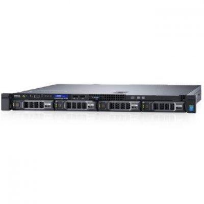 Сервер Dell PowerEdge R230 (210-AEXB/009) (210-AEXB/009)Серверы Dell<br>PowerEdge R230 E3-1230v5 (3.4GHz, 4C), 8GB (1x8GB) UDIMM, (1)*1TB SATA 7.2k (up to 4x3.5), PERC H330, DVD+/-RW, Broadcom 5720 DP 1Gb LOM, iDRAC8 Enterprise, PSU 250W, Bezel, Static Rails, 3Y Basic NBD<br>