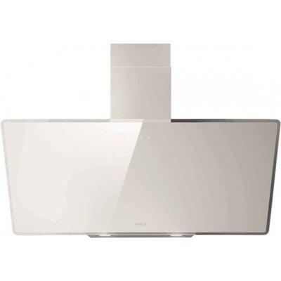 Вытяжка Elica SHIRE WH/A/90 (SHIRE WH/A/90-PRF0119828)Вытяжки Elica<br>Вытяжки ELICA/ Наклонная, 90см, 1200 м3, сенсорное управление, белое стекло<br>