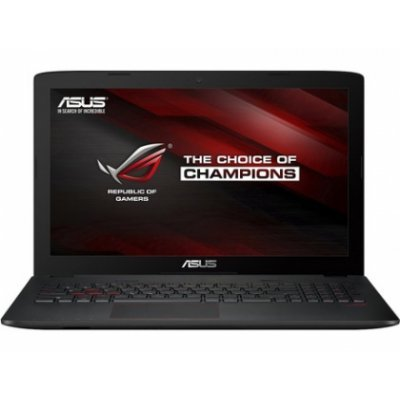Ноутбук ASUS GL553VE-FY056T (90NB0DX3-M00740) (90NB0DX3-M00740)Ноутбуки ASUS<br>Ноутбук Asus GL553VE-FY056T Core i7 7700HQ/8Gb/1Tb/DVD-RW/nVidia GeForce GTX 1050 Ti 4Gb/15.6/IPS/FHD (1920x1080)/Windows 10 64/black/WiFi/BT/Cam/3100mAh<br>