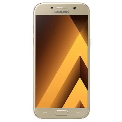 Смартфон Samsung Galaxy A5 (2017) SM-A520F 32Gb золотистый (SM-A520FZDDSER) компьютер home 310 intel core i3 7100 3 9ghz 8gb 500gb max size vga 371mm win10h sl 64 bit
