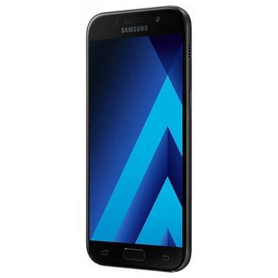 Смартфон Samsung Galaxy A5 (2017) SM-A520F 32Gb черный (SM-A520FZKDSER)Смартфоны Samsung<br>Смартфон Samsung Galaxy A5 (2017) SM-A520F 32Gb черный моноблок 3G 4G 2Sim 5.2 1080x1920 Android 5.1 13Mpix WiFi BT GPS GSM900/1800 GSM1900 TouchSc MP3<br>