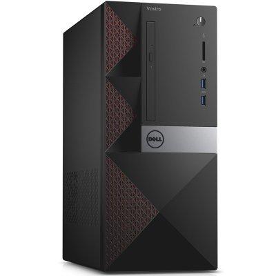 Настольный ПК Dell Vostro 3650 MT (3650-8319) (3650-8319)Настольные ПК Dell<br>ПК Dell Vostro 3650 MT P G4400 (3.3)/4Gb/500Gb 7.2k/HDG510/DVDRW/CR/Windows 10 Professional 64/GbitEth/клавиатура/мышь/черный<br>