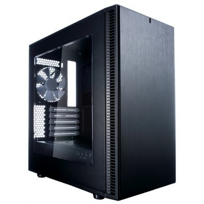 Корпус системного блока Fractal Design Define Mini C Window черный без БП (FD-CA-DEF-MINI-C-BK-W)