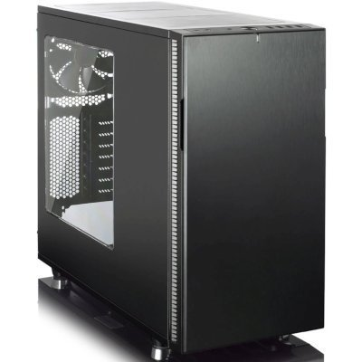 Корпус системного блока Fractal Design Define R5 Blackout Edition Window черный без БП (FD-CA-DEF-R5-BKO-W)