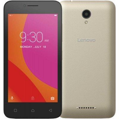 Смартфон Lenovo Vibe B золотистый (PA4R0152RU)Смартфоны Lenovo<br>Lenovo A2016 MT6735M (1.0Ghz)/4,5&amp;amp;#039;&amp;amp;#039; TFT/854x480/1Gb/8Gb/Dual SIM/4G/SD/WiFi/BT/5MP/And 6.0/Gold<br>