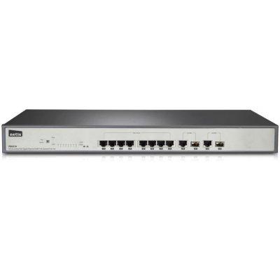 Коммутатор Netis PE6310 (PE6310)Коммутаторы Netis<br>Коммутатор 8PORT 10/100M 2 COMBO SFP PE6310 NETIS<br>