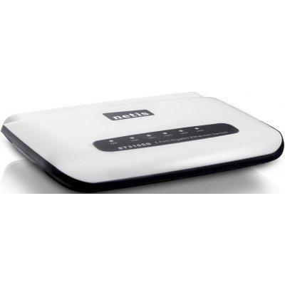 Коммутатор Netis ST3105G (ST3105G)Коммутаторы Netis<br>Коммутатор 5PORT 1000M ST3105G NETIS Коммутатор 5-портовый гигабитный 10/100/1000 Мбит/с, настольный, пластиковый корпус<br>