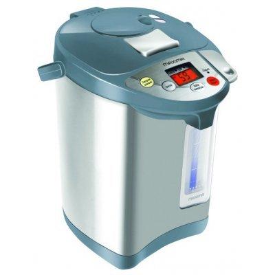 Термопот Maxima MTP-M058D (MTP-M058D черный)Термопоты Maxima<br>термопот<br>объем 3.5 л<br>мощность 730 Вт<br>стальной корпус<br>выбор температуры нагрева воды<br>дисплей<br>индикация включения<br>подсветка корпуса<br>