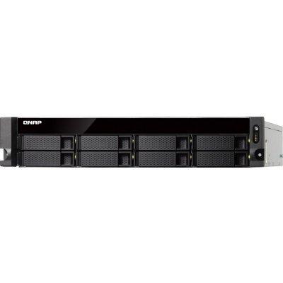 Рэковое сетевое хранилище (Rack NAS) Qnap TS-863U-4G (TS-863U-4G) рэковое сетевое хранилище rack nas qnap ts 431p ts 431p