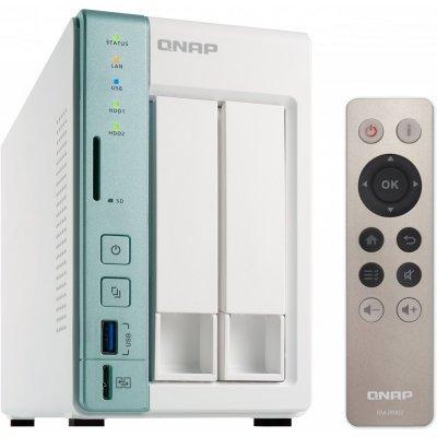 Рэковое сетевое хранилище (Rack NAS) Qnap TS-251A-2G (TS-251A-2G) рэковое сетевое хранилище rack nas qnap ts 431p ts 431p