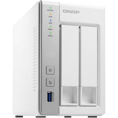все цены на  Рэковое сетевое хранилище (Rack NAS) Qnap TS-231P (TS-231P)  онлайн