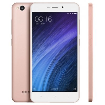 Смартфон Xiaomi Redmi 4A 16Gb розовое золото (6954176830302)Смартфоны Xiaomi<br>Android 6.0, поддержка двух SIM-карт, экран 5, разрешение 1280x720, камера 13 МП, автофокус, память 16 Гб<br>