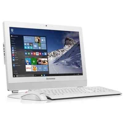 Моноблок Lenovo S200z (10K5001YRU) (10K5001YRU)Моноблоки Lenovo<br>Моноблок Lenovo S200z 19.5 HD+ Cel J3060/2Gb/500Gb 7.2k/DVDRW/Free DOS/клавиатура/мышь/Cam/белый 1600x900<br>