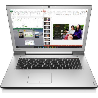 Ноутбук Lenovo 700-15 (80RV0063RK) (80RV0063RK)Ноутбуки Lenovo<br>700-17ISK/ 17,3 FHD / I5-6300HQ/ 4Гб (х1)/ 1TB HDD  / GTX950M 4G/ noDVD/ WiFi Intel 3165 + BT/ Windows 10/ Чёрный<br>