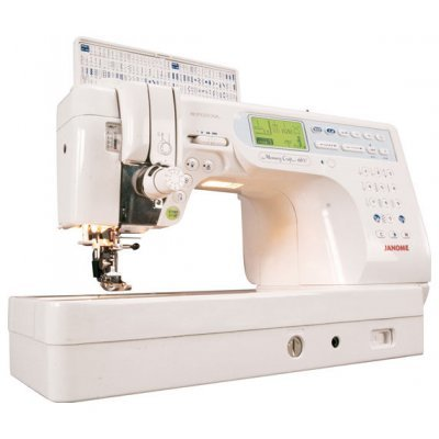 Швейная машина Janome Memory Craft 6600P белый (MC-6600)  janome horizon memory craft 8200 qc